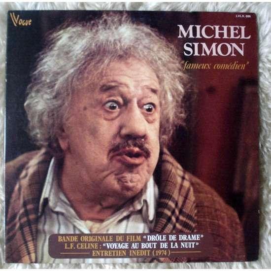 Michel simon - Fameux comedien - Double 33T Gatefold