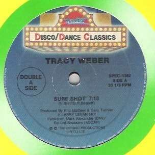 Tracy WEBER sure shot , remix // instru. // one step at a time