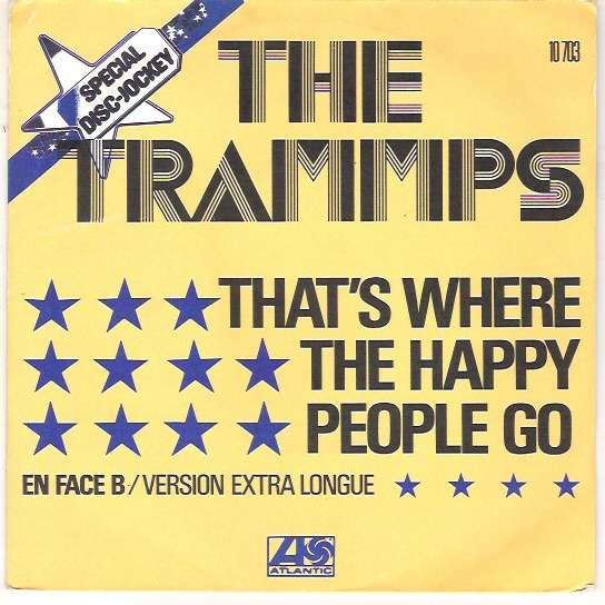 That S Where The Happy People Go 2mix By Trammps 7inch