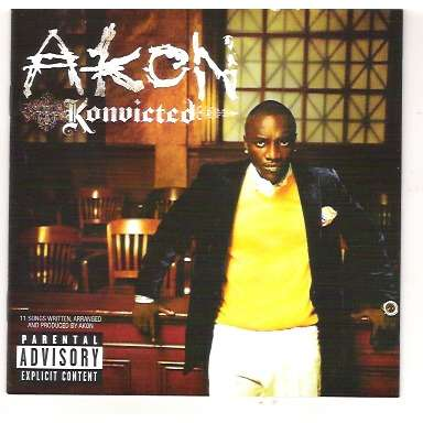 Konvicted by Akon, CD with gmsi - Ref:114774990