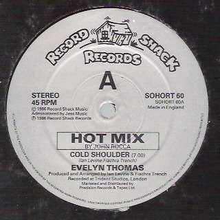 Evelyn THOMAS cold shoulder , hot mix // instru.