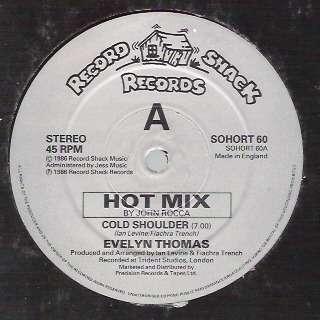 Evelyn THOMAS cold shoulder , hot mix / instru.