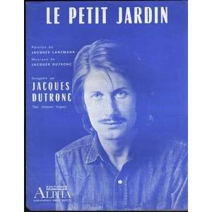 Le petit jardin de Jacques Dutronc, Partition chez golfdrouot73 ...