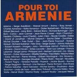 CHARLES AZNAVOUR . ROBERT HOSSEIN .. POUR TOI ARMENIE - ILS SONT TOMBES .. Avec ADAMO - BIRKIN - CHEDID - CLERC - GOTAINER - HALLYDAY ..