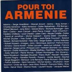 JOHNNY HALLYDAY . CHARLES AZNAVOUR .. POUR TOI ARMENIE - ILS SONT TOMBES .. Avec ADAMO - BIRKIN - CHEDID - CLERC .. .. ERREURS / POCHETTE