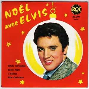 elvis presley noel avec elvis white chrismas silent night i believe - Blue Christmas Elvis Presley