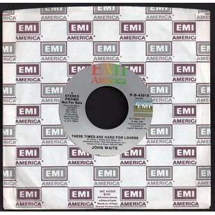 JOHN WAITE . ( EX BABYS . BAD ENGLISH ) THESE TIMES ARE HARD FOR LOVERS  ..  PROMO USA