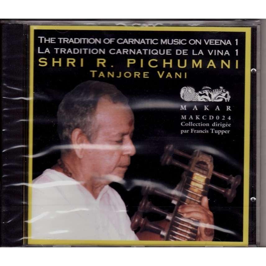 Shri R. Pichumani Tradition of carnatic music on veena 1