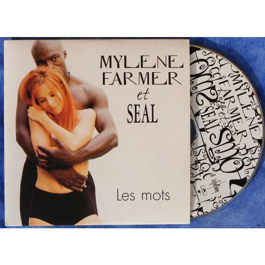 myléne farmer et seal les mots / les mots (strings for souls mix)