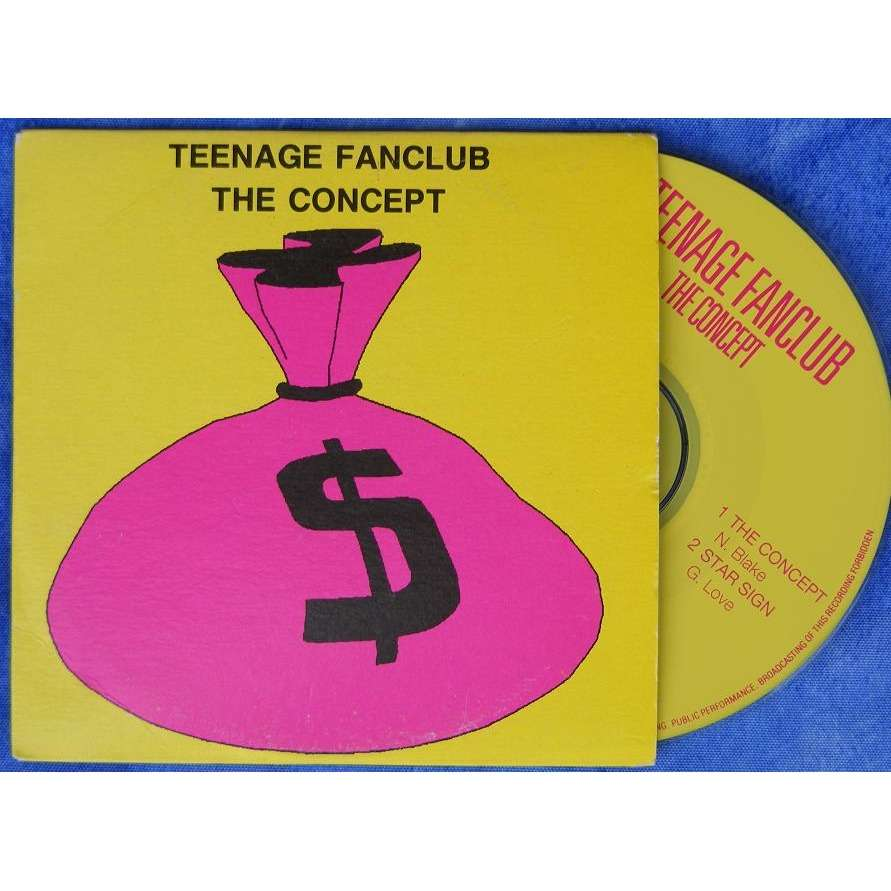 The Concept Star Sign By Teenage Fanclub Cds With
