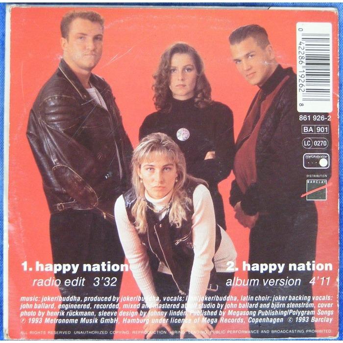 Ace-of-base happy nation