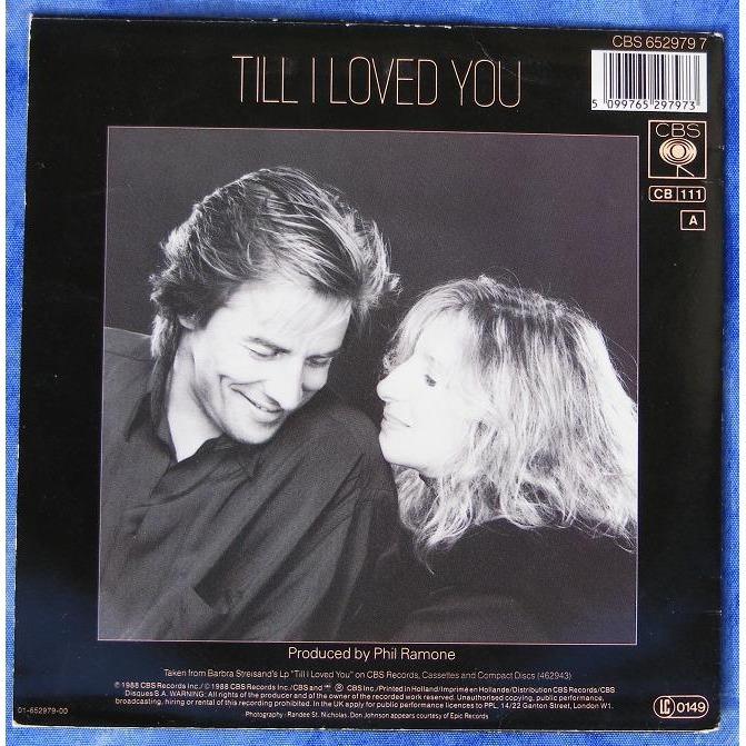 Till I Loved You By Barbra Streisand And Don Johnson Sp