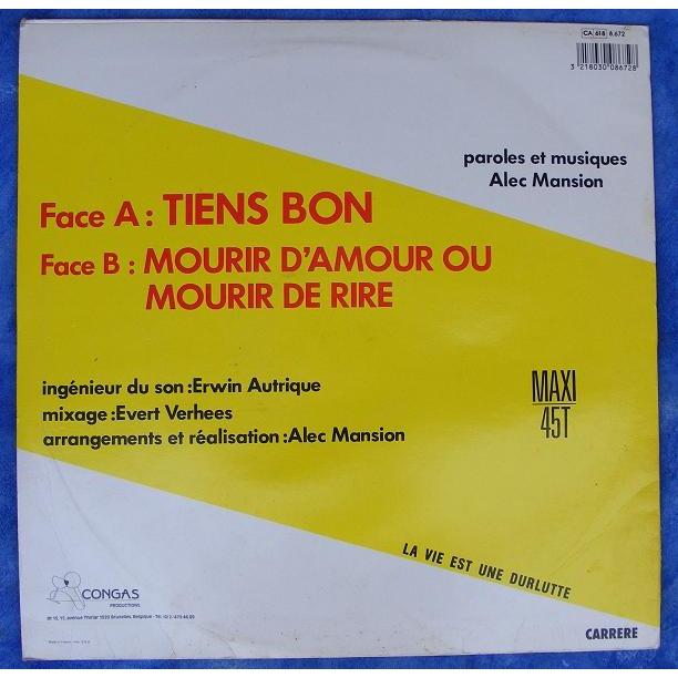 Alec Mansion Tiens Bon