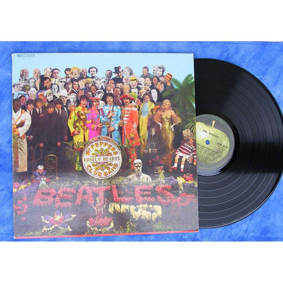Sgt Pepper S Lonely Hearts Club Band By The Beatles Lp
