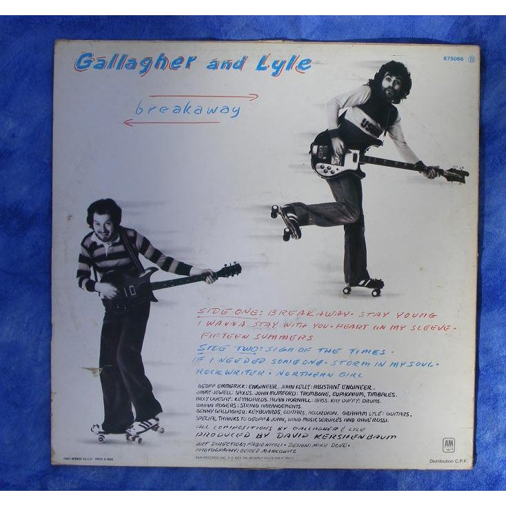 GALLAGHER AND LYLE - BREAKAWAY ALBUM LYRICS