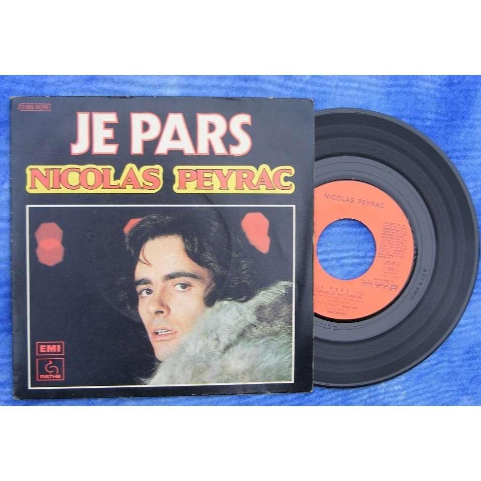 Nicolas Peyrac - Tu M'Oublieras