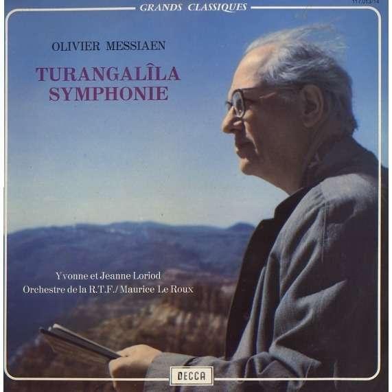 yvonne et jeanne loriot - Orchestre de la RTF Olivier Messiaen Turangalîla Symphonie
