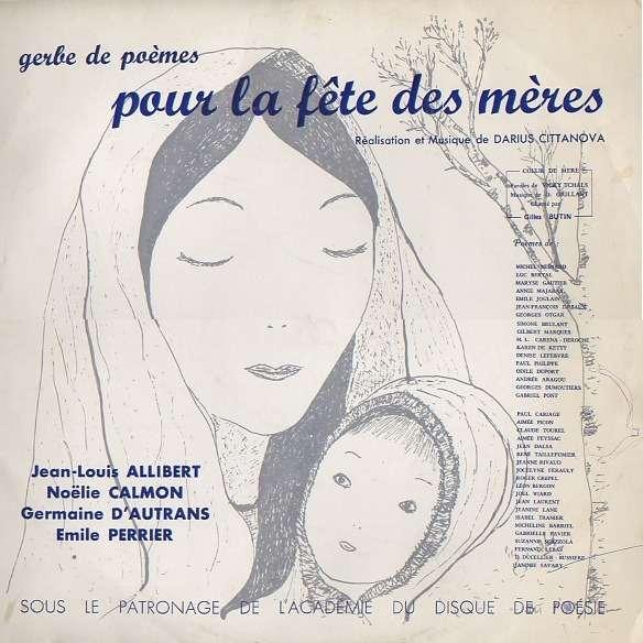 Cittanova Darius Gerbe De Poèmes Pour La Fête Des Mères