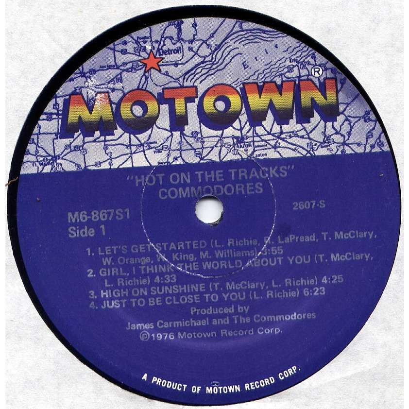 Hot on the Tracks/In the Pocket - Commodores   Similar ...