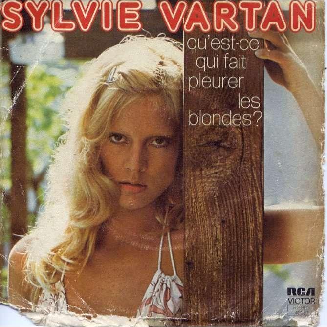 qu 39 est ce qui fait pleurer les blondes de sylvie vartan sp chez grigo. Black Bedroom Furniture Sets. Home Design Ideas