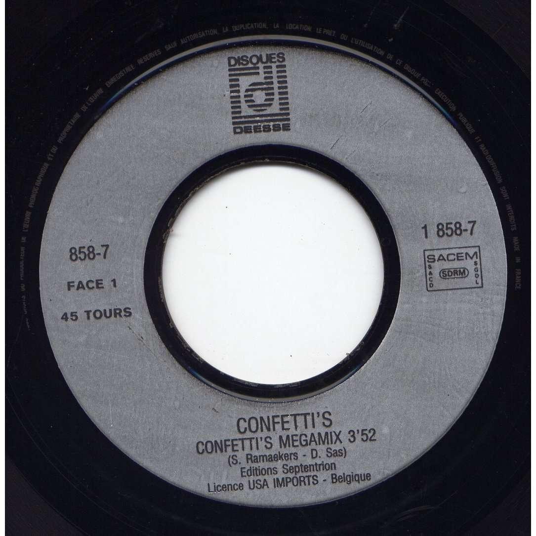 confetti's confetti's megamix