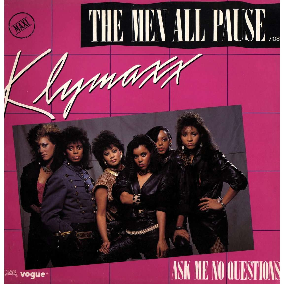 klymaxx the men all pause / ask me no questions