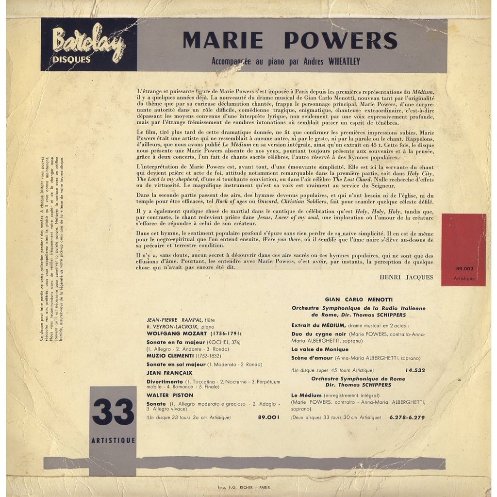 marie powers popular hymns