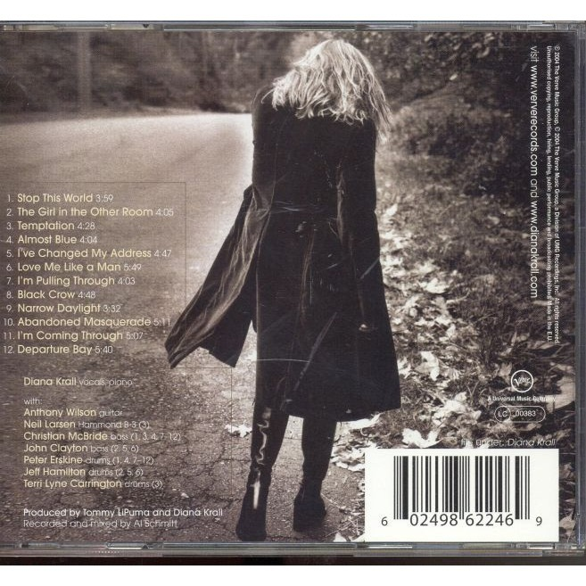 The Girl In The Other Room By Diana Krall Cd With Grigo