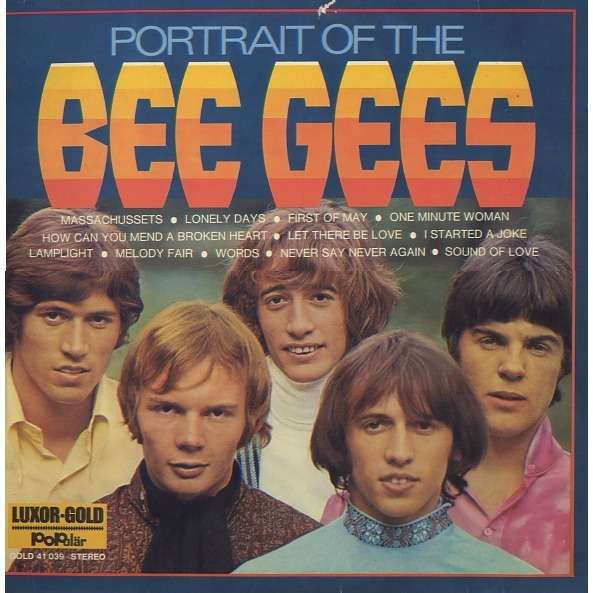 the bee gees - portrait of the bee gees - LP