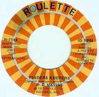 P. P. Mavins Finders Keepers / Lialah
