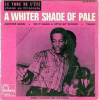 Bobby Johnson And The Atoms A Whiter Shade Of Pale
