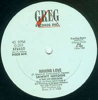 Sammy Gordon & The Hip Huggers Making Love