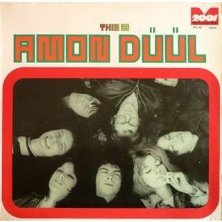 AMON DÜÜL psychedelic underground ( original german press