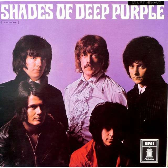 Shades Of Deep Purple German First Press By Deep Puple