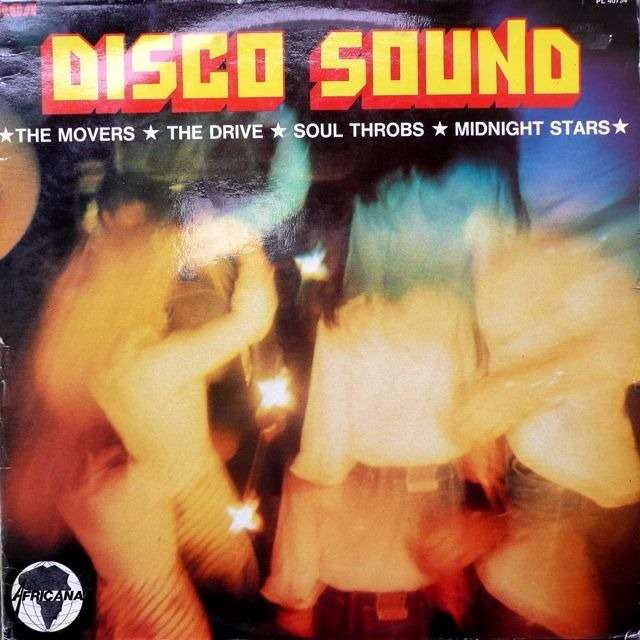 Various - Movers / Drive/ Soul Throbs/ Midnight.St Disco sound ( Afro Funk & Soul )