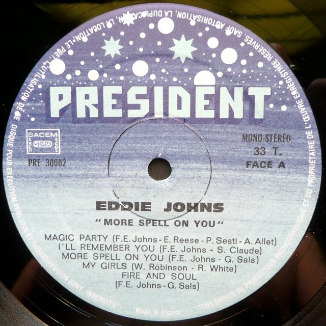 Eddie Johns More Spell On You