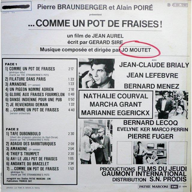 Comme Un Pot De Fraises #4: ... JO MOUTET Comme Un Pot De Fraises ...