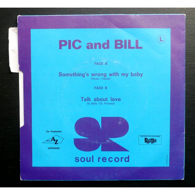 Pic and Bill Talk about love  (  Mod Northern soul  )