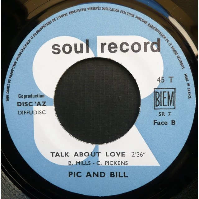 Pic and Bill Talk about love  (  Northern soul  )