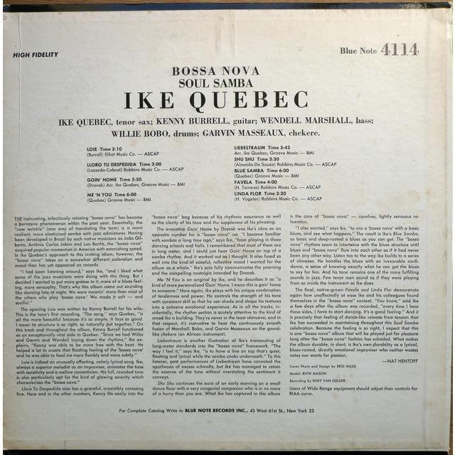 Ike Quebec Liebestraum Shu Shu