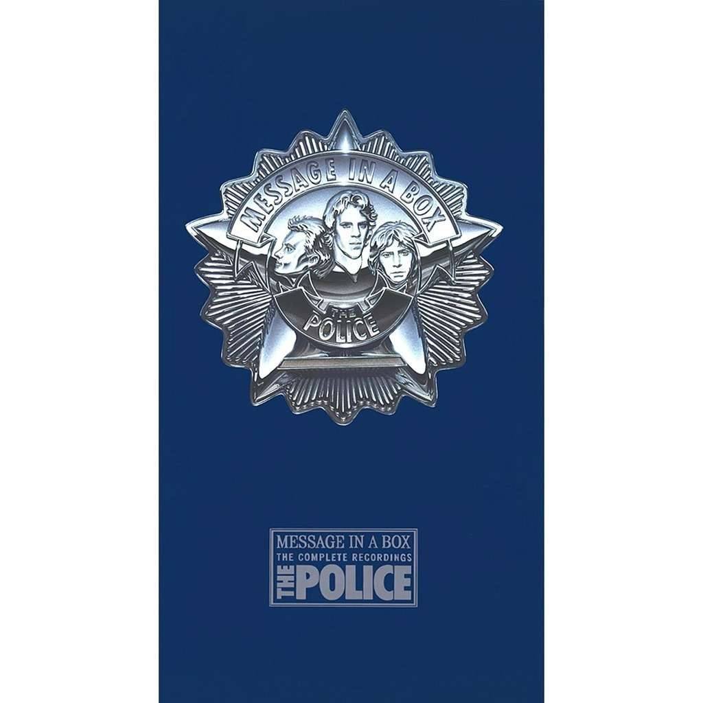THE POLICE MESSAGE IN A BOX (4CD BOX COMPILATION)
