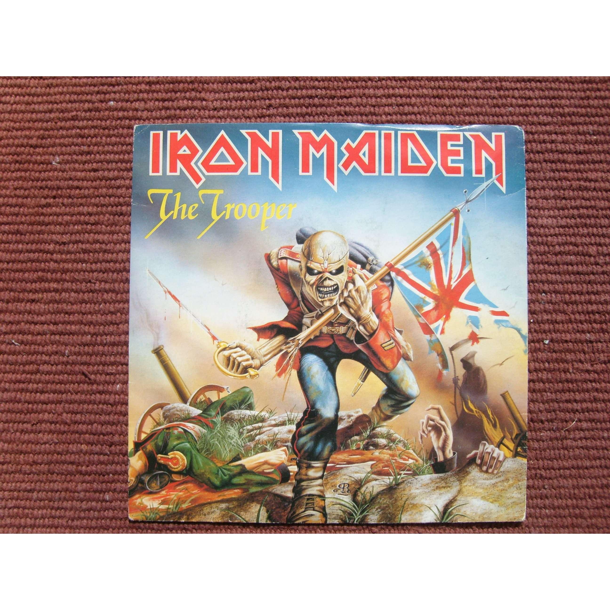 iron maiden the trooper + 1