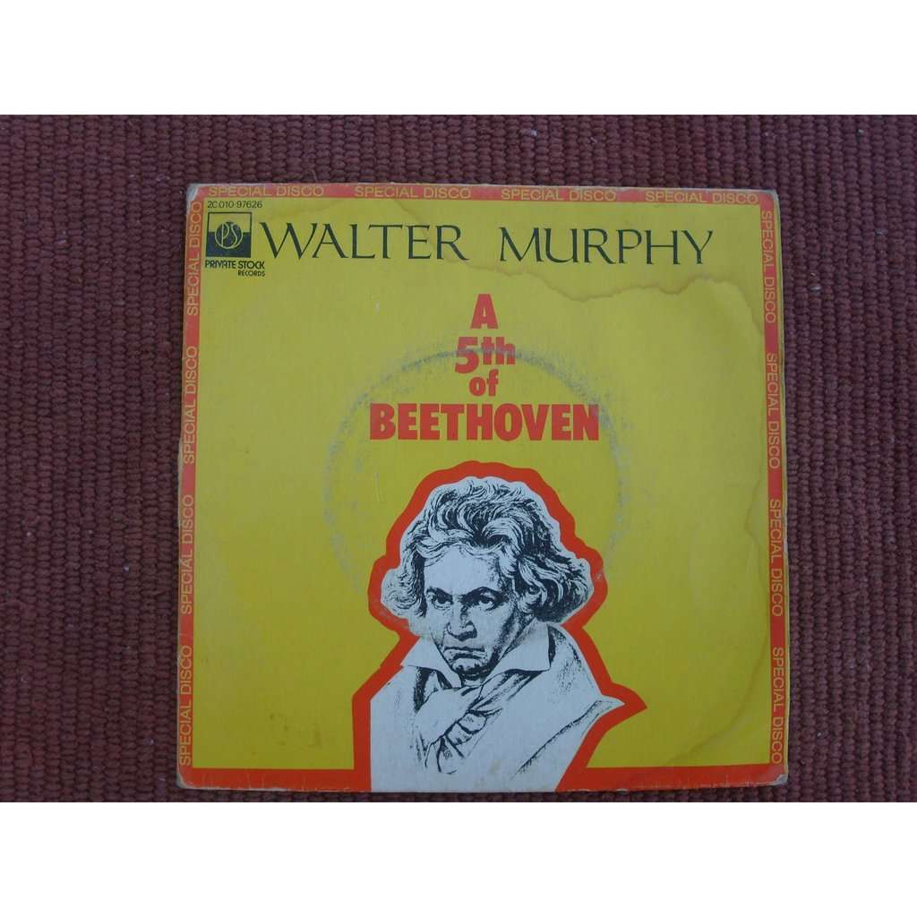 walter murphy and the big apple band a fifth of beethoven - california strut