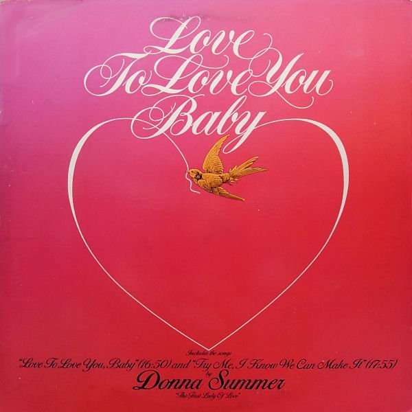 Love To Love You Baby By Donna Summer 12inch With Jajar