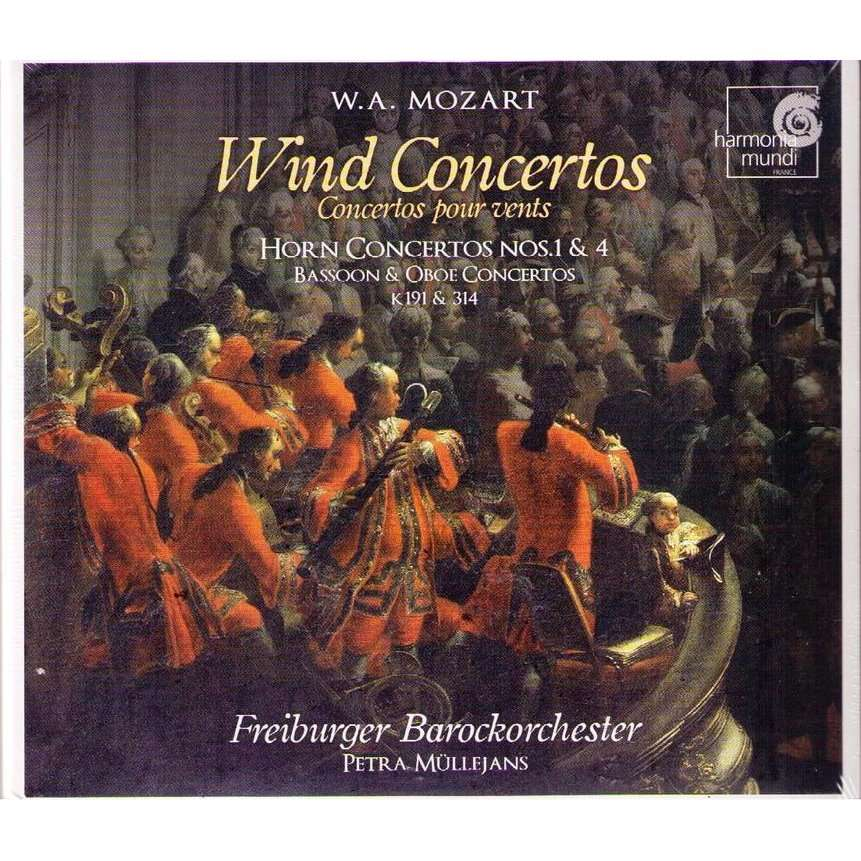 WIND CONCERTOS by W.A.MOZART, CD with jazztime - Ref:115005051
