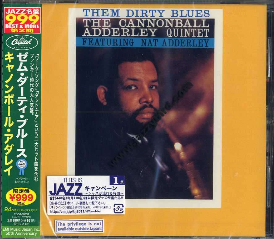 Them Dirty Blues By Cannonball Adderley Cd With Jazzybird
