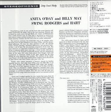 anita o day Anita O Day And Billy May Swing Rodgers And Hart