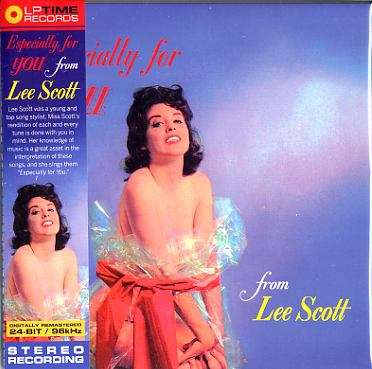 lee scott ESPECIALLY FOR YOU & COOL MUSIC FOR WARM PEOPLE