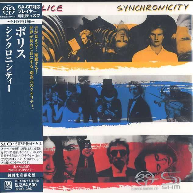 Synchronicity Shm Sacd By Police Sacd With Jazzybird