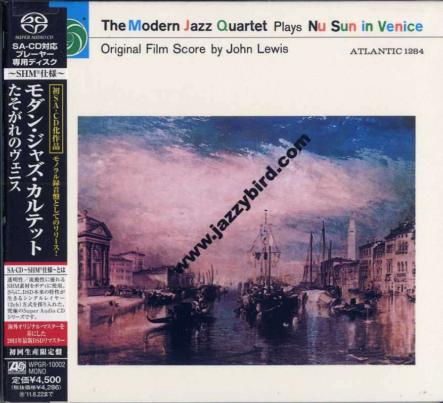 modern jazz quartet Plays No Sun In Venice Original[SHM-SACD]
